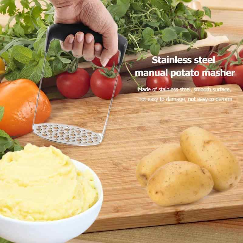 תפוחי אדמה ידנית בוץ משר Ricers נירוסטה צ 'ופר קאטר עיתונות מגרסה ירקות פירות מטבח אבזרים