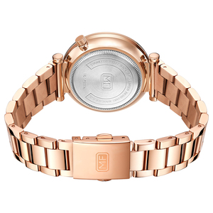 Image 3 - MINI FOCUS Women Watches Brand Luxury Fashion Ladies Watch 30M Waterproof Reloj Mujer Relogio Feminino Rose Gold Stainless Steel