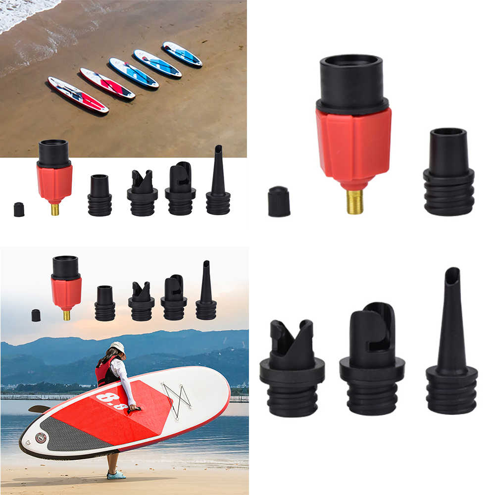 Inflatable Pump Air Valve Adapter For Paddle Board Surf Boat Compressor U7O0