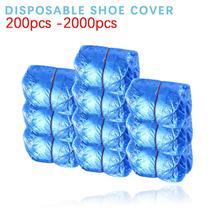 Shoe-Cover Boot-Safety Rainy-Season Disposable Waterproof Anti-Slip Home 2000PCS