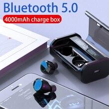 G06 TWS Wireless Earphone Bluetooth earphone 5.0 Earphones Power Display Touch Control Sport Stereo