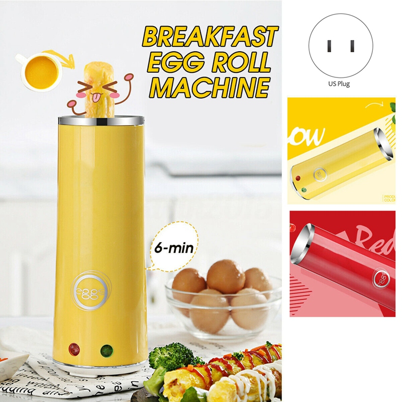 NHBR-Electric Eggroll Machine Cooker Egg Roll Maker Sausage Frying Cooking Cup Tool US Plug