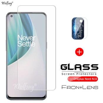 Per Oneplus Nord N10 vetro temperato per Oneplus Nord N10 pellicola proteggi schermo in vetro pellicola per obiettivo per Oneplus Nord N10 5G
