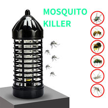 Electrico Mosquito Fly Bug Killer Trap UV lámpara de luz LED Mosquito Killer Lamps Killer Zapper luces de lámpara de noche(China)