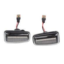 2 stücke Bernstein LED Front Fender Side Marker Lichter Für Peugeot 106 306 406 806 EXPERT 1 2 Für Fiat scudo Ulysse