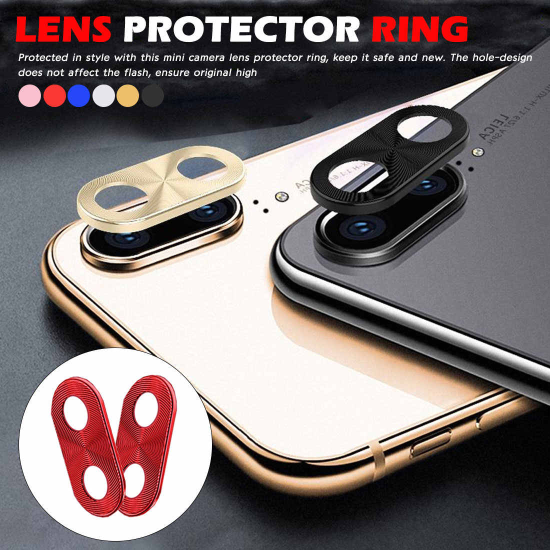 P30Pro Camera Lens Protector For Huwei P30 Lite 20 Pro Nova 5 5i 4 Lite P Smart Plus 2019 Back Lens Protection Ring Bumper Coque