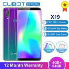Смартфон Cubot X19 Helio P23, восьмиядерный процессор, экран 18:9 FHD, ОЗУ 4 Гб, ПЗУ 64 Гб, экран 5,93 дюйма, двойная камера 16.0 Мп 2160*1080, 4000 мАч, 4G LTE, функция рас...