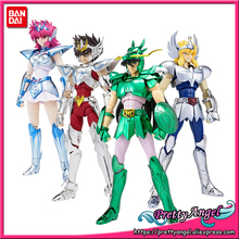 PrettyAngel   Genuine BANDAI SPIRITS Tamashii Nations Saint Cloth Myth Saint Seiya Equuleus Shoko Saintia Sho Action Figure
