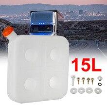 Пластиковый топливный бак 15 л с 4 отверстиями, бензиновый бак для воздуха, дизельного топлива, парковочный отопитель, бензиновый резервуар д...