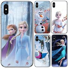 Soft TPU Silicone Mobile Phone Case Cover For Lenovo Vibe K5 Pro Play K350T K320T S5 Pro Z5 A5 Shell Case Frozen II Elsa Olaf(China)