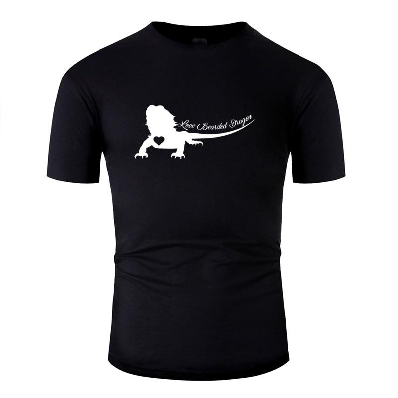 >Fitted Bearded Dragon <font><b>Men</b></font> <font><b>Tshirt</b></font> <font><b>Crew</b></font> Neck Streetwear 100% Cotton Adult Tee Shirt Tee Tops