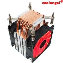 X79 X99 Cpu Cooler 6 Heat pipe 4PIN PWM 90MM Mute CPU FAN Computer processor cooling LGA X299 2099 2011 motherboard CPU radiator
