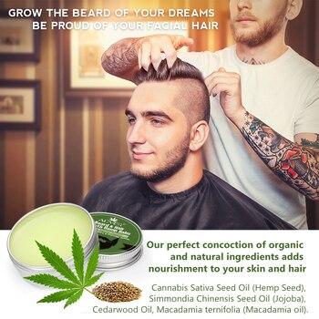 30ML  Beard Growth Oil Beard Balm Moustache Growth Serum Moisturizing Smoothing Beard Hair Growth Essence Hair Care 4