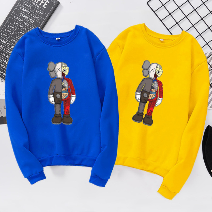 New Hooded Cute Graphic Simple Hoodies Long Sleeve Solid Color Female Sweatshirts