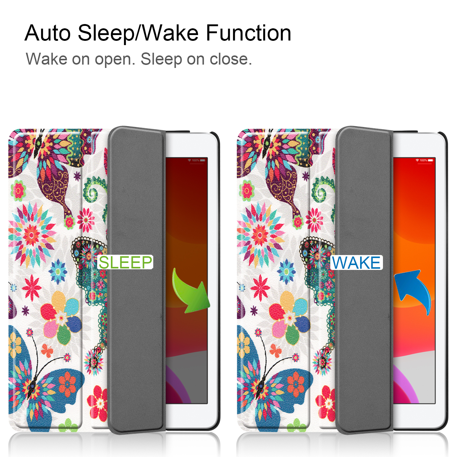 A2428/a2429 iPad Smart-Cover Magnetic Apple Sleep 8-8th-Generation iPad/8th/Cas for Case