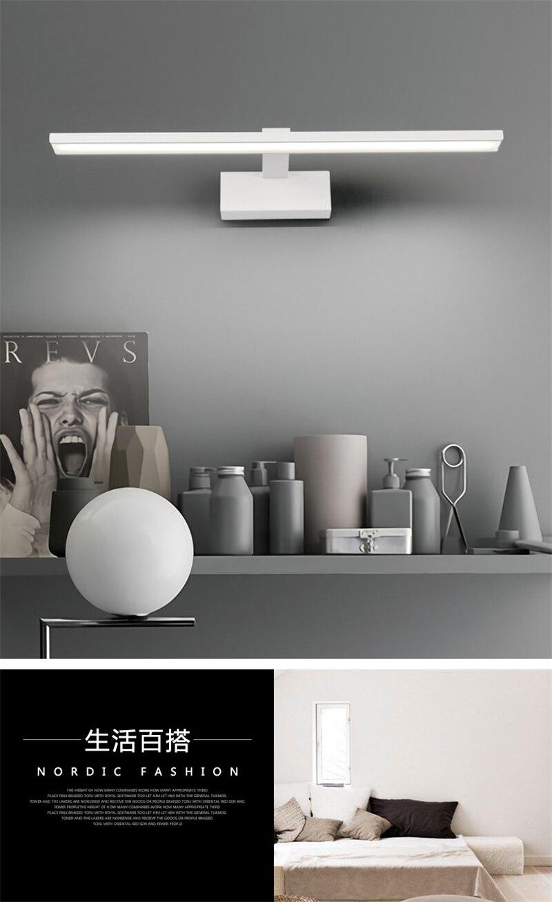 Nordic banheiro conduziu a lâmpada de parede