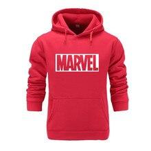 Новый супер герой Марвел толстовки Супрем мужская мода толстовки напечатаны уличная одежда