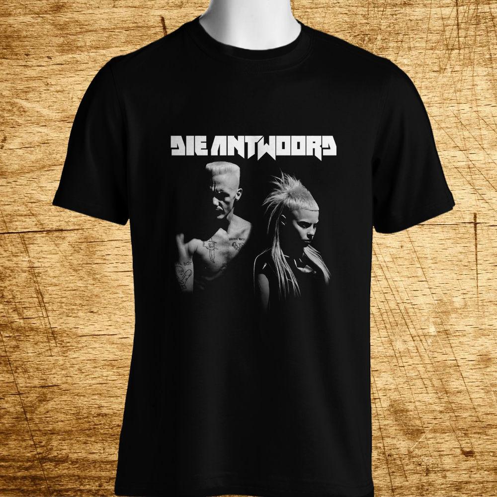 New Die Antwoord *Enter The Ninja Rap Hip Hop Men'S Black T-Shirt 2019 Cool Tees