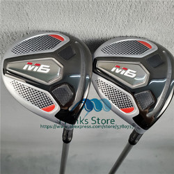 Neue golf clubs M6 golf woods 3#5# golf fairway woods FUBUKI graphit Regular oder Stiff welle mit headcover