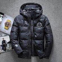 2019 Fashion Male winter High-grade warm slim Fit hooded Down jacket