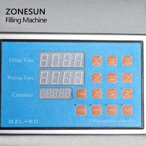 Image 2 - ZONESUN 6 דיזות נוזלי בקבוק בושם מים מיץ חיוני שמן חשמלי בקרה דיגיטלית משאבת נוזל מכונת מילוי אספקת