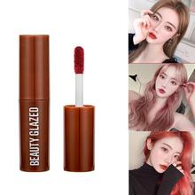 Chocolate Lipstick Matte Lip Glaze Velvet Matte Non-fading Lip Glaze Lipstick Set Cosmetic Tube Make Up Matte Lip Glaze