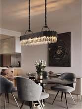 Роскошная хрустальная люстра современная гостиная разноцветная