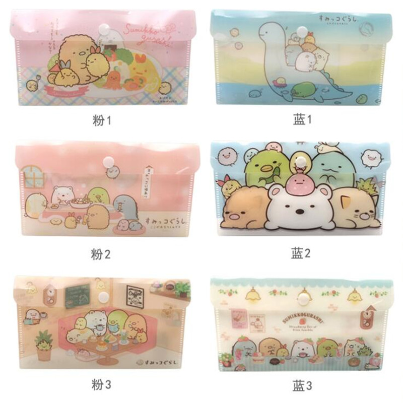 6pc 2020 New Face Mask Holder Cover Bags Protective Case Protection Sheet Washable  Bags PP Plastic Mask Holder File Bags