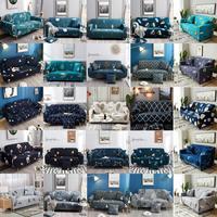 Elástico funda completa para sofá para la sala de 2/3/4 funda de sofá elástica para sofá Puff asiento sillón montar casa funda decorativa