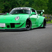 PGM 1:64 RWB 993 Rough Rhythm green Ordinary/Luxury DieCast Model Car