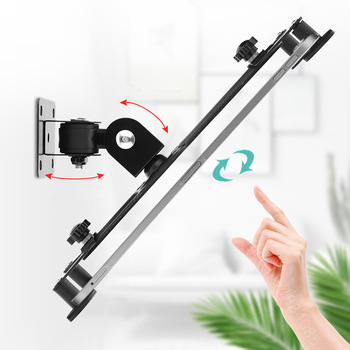 Wall Mount Tablet Stand Screen 360° Rotating, Tablets Holder Tilt Angle 90° Support 7-13 inch Tablet PC 1