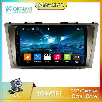 9 Inch Car Radio For Toyota Camry 6 XV 40 50 2006-2011 Multimedia Video Player Navigation GPS Android 9.0 2 din DSP WIFI Radio image