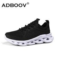 ADBOOV модные новые мужские кроссовки сетчатый верх дышащая мужская спортивная обувь ПУ подошва спортивные кроссовки для ходьбы из Китая