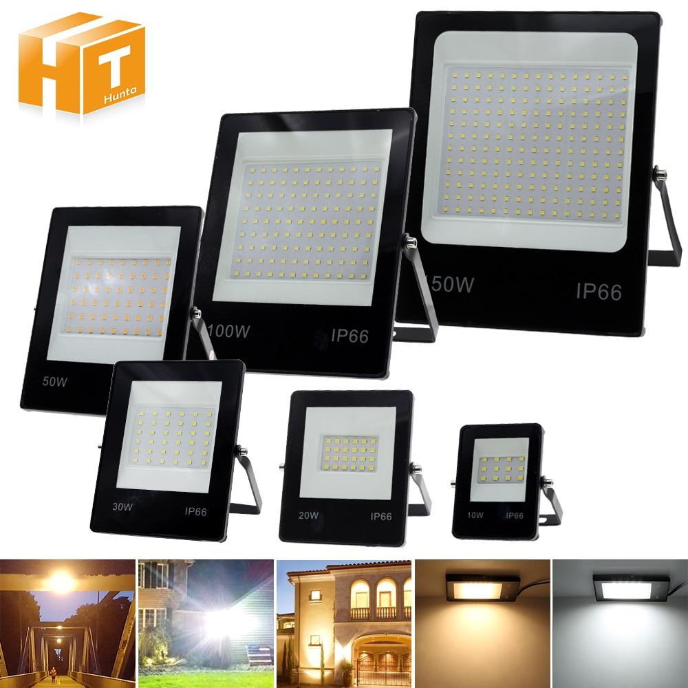 Diodo emissor de luz luz de inundação 220v 50w 100w 150 alto brilho ip66 impermeável ao ar livre iluminação led holofotes parede