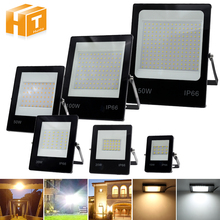 LED Flood Light 220V 50W 100W 150W High Brightness IP66 Waterproof Outdoor Lighting LED Spotlight Wall Floodlights