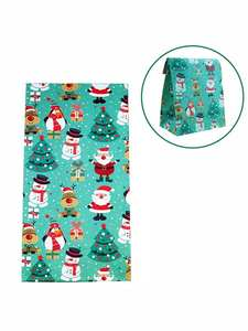 Gift-Bag Candy-Stand New-Products Christmas Bear 10pcs Snowman Santa Penguin Elk Puoch