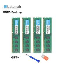 Latumab 4GB 8GB DDR3 1600mhz 1066mhz PC3 12800 8500 Desktop Memory Dimm Ram 240 Pins 1.5v Desktop PC Memory RAM Memory Module kingspec ddr3 ram memory ddr3 4gb 8gb 1600 mhz for desktop pc ddr3 memoria ram ddr3 8gb 4gb