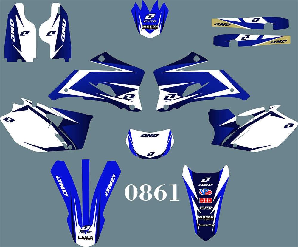Full Custom Graphic Kit Yamaha WRF 250-2007 2011