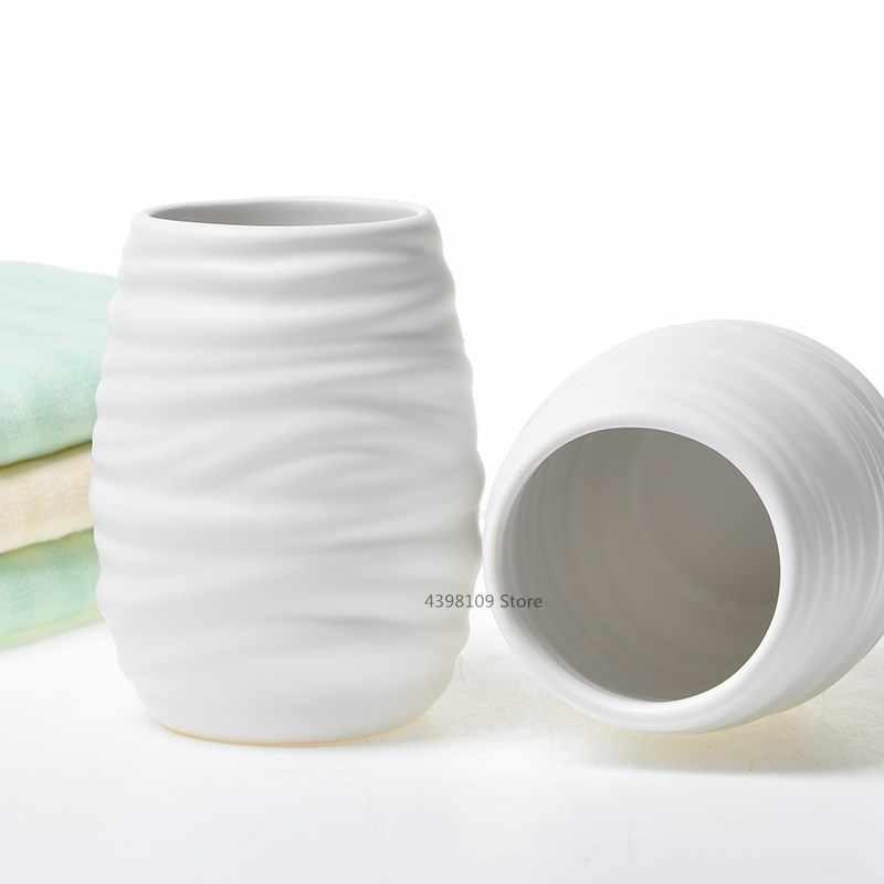 Europejski łazienka dostarcza zestaw ceramiczna armatura łazienkowa uchwyt na szczoteczkę do zębów domu łazienka dostarcza prezenty ślubne