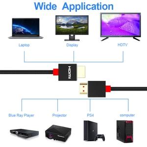 Image 3 - HDMI مفتاح الكابلات HDMI إلى HDMI الترا hd 4K 60Hz الحبل ل lg b9 الذكية كمبيوتر محمول LCD التلفزيون ل Ps5 HDMI 2.1 العارض 8K hdmi Kabel