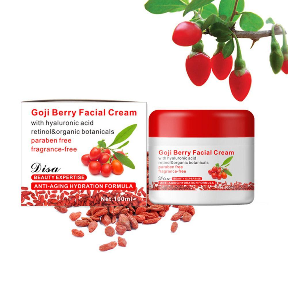 Goji Berry Facial Cream Wolfberry Anti-aging Whitening Wrinkle Moisturizing Cream Hyaluronic Acid Retinol Chinese Skin Care