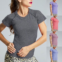 Crop Top Seamless Short Sleeve Yoga Top Sport Top Fitness Women Gym Top Sport Shirt Women Workout Tops For Women Yoga Shirt fitness women top yoga shirts female sport gym top sport shirt women top yoga tank top fitness women clothing t shirt