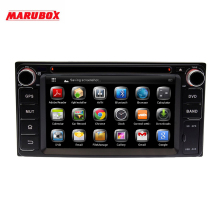 """MARUBOX KD-6229 Универсальный 6,"""" Автомобильный dvd-плеер для Toyota, Daihatsu, 2 Din автомобильный радиоприемник с gps навигацией стерео радио Bluetooth"""