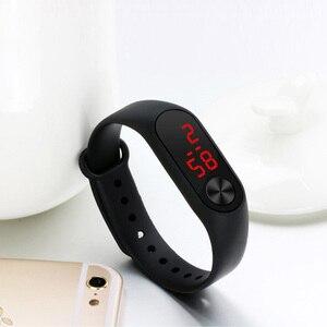 MEGALITH/маленький подарок, модные мужские спортивные часы, простой женский браслет, наручные часы, светодиодные спортивные часы