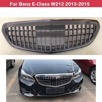 цена на Car styling Middle grille For Mercedes-Benz E-Class W212 2013-2015 Modified for Maybach style