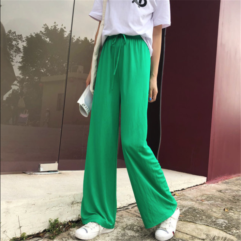 New High Quality Women's Casual Pants Solid Pants  26-36