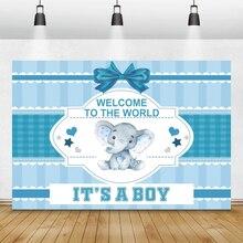 קריקטורה מוזמן העולם יילוד תינוק מקלחת צילום רקע ילד ילדה מין לחשוף מסיבת הבאנר רקע Photostudio