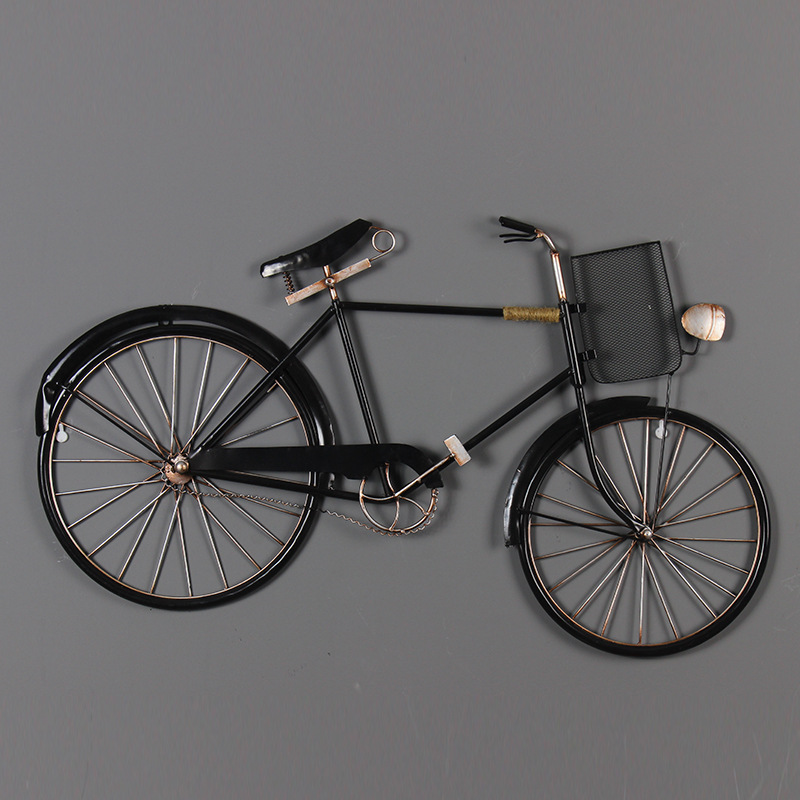 Retro Iron Crafts Bicycle Model Diecast Cycling Bike Model Car Speelgoed Auto Creative Ornaments Boy Toys for Children Adults