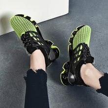 Gros hommes chaussures de luxe baskets grande taille lame guerrier hommes chaussures décontractées à lacets noir loisirs Sports 2021 printemps Zapatillas