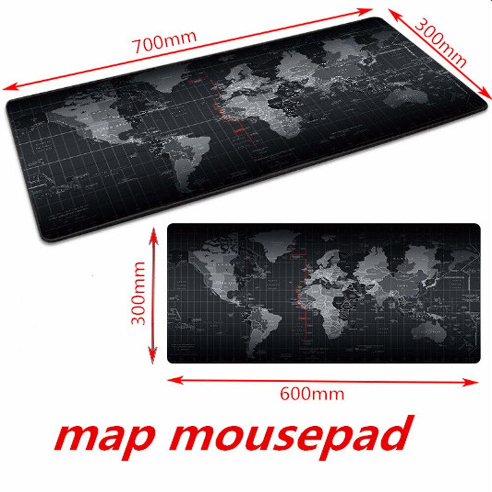 Игровой коврик для мыши, большой коврик для мыши, компьютерный коврик для мыши, резной коврик для мыши с картой мира, Настольный коврик для клавиатуры, подушка XXL XL-5
